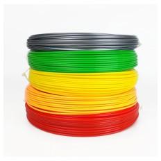 Filament za 3D Pisalo 5kos 50g / 17m / 1,75mm - PAKET 2