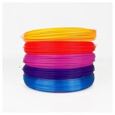 Filament za 3D Pisalo 5kos 50g / 17m / 1,75mm -  PAKET 4
