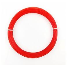PLA Rdeča Transparent - Vzorec 50g / 17m / 1.75mm