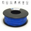 Fleksibilni Filament Trdota 85A Modra 1.75mm